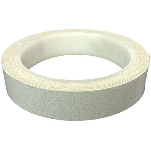 DonDo 3M 610C Reflektierendes Klebeband Reflexfolie Konturmarkierung Silber 20mm x 10m 3M-610C-Silber-20mm