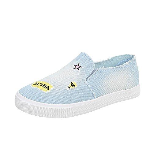 Mocasines Plano Design Ital para Lumi Slip Mujer Zapatos on wqTXXIdP