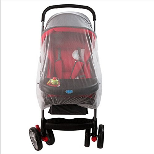 PAPWELL Baby Mosquito Net for Stroller, Crib, Pack and Play, Bassinet, Playpen, Baby Mosquito Netting Crib Mosquito Net Tent, Large, Elastic, and Breathable from PAPWELL