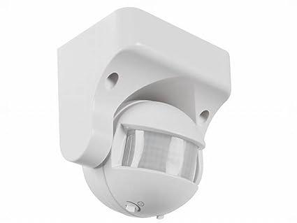 Velleman PIR1200R - Detector de movimiento de Pir (180 grados), color blanco