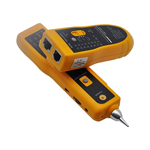 DricDoda Multifunction Wire Tracer, Professional RJ45 RJ11 Handheld Cable Locator Line Finder Cable Tester with Tool Kit for Network Cable Collation, Telephone Line Test, Continuity Checking by DricRoda (Image #3)