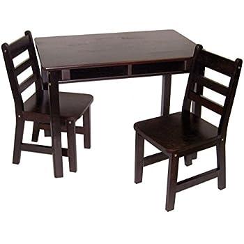 new KidKraft Rectangle Table And 2 Chair Set - Natural - sergdamask.com