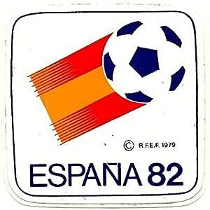 Desconocido Antigua Pegatina Adhesivo Sticker Mundial DE FÚTBOL ESPAÑA 1982 82. para COLECCIÓN. Naranjito: Amazon.es: Juguetes y juegos