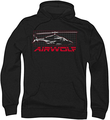 Black Capuche Pour Airwolf À Grille Hommes qZxXwwA7P
