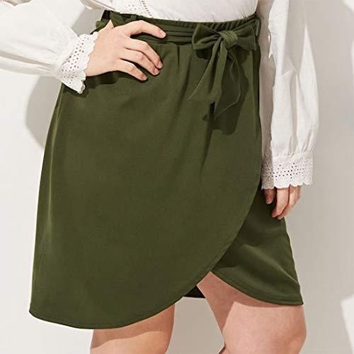 Falda de Las Mujeres Las Mujeres de Gran tamaño de la Falda (Color ...