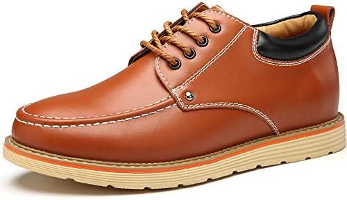 [スポンサー プロダクト][RAKUJI] シークレットシューズ メンズ 6cm UP カジュアルシューズ 靴 ビジネスシューズ シークレット レースアップ 紳士靴 柔らかい