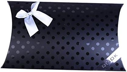 DISOK - Caja De Regalo & Presentacion Elegance - Cajita, Cajitas, Sobres, Cajas para Detalles y Recuerdos de Bodas, pañuelos y pasminas