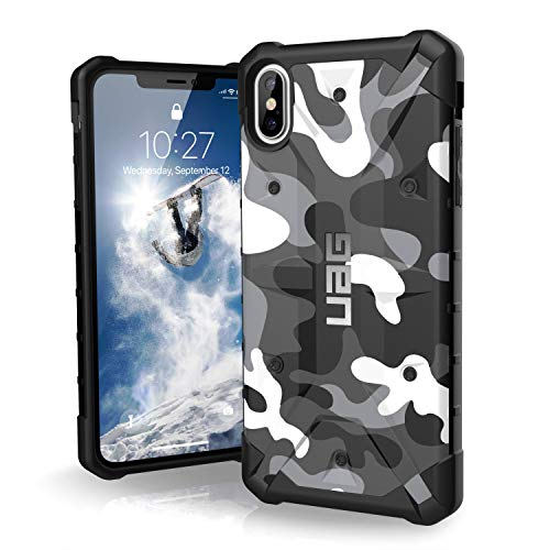 URBAN ARMOR GEAR UAG iPhone Xs Max [6.5-inch Screen] Pathfinder SE Camo Feather-Light Rugged [Arctic] Military Drop Tested iPhone Case