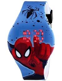 Marvel Ultimate Spider-Man SPD3446 Reloj digital del Hombre Araña, con movimiento de cuarzo, para niños