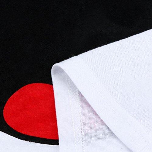 Shirt QinMM Impression T B Maternity Femme Enceinte Bouche Top qWWg6SwBO