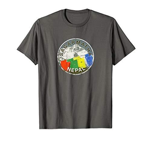 Nepal Mount Everest Sagarmatha Mountain Climbing T Shirt