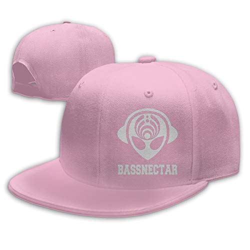 Bassnectar Alien Dad Hat Flat Brim Adjustable Snapback Trucker Baseball Cap (Varied Colors)]()