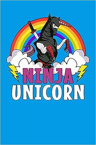 Ninja Unicorn: Unicorn Samurai Notebook: Amazon.es: Cloud ...