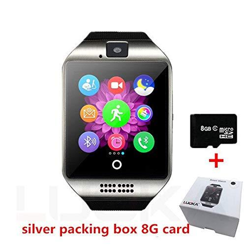 Luoka - Reloj Inteligente Bluetooth Q18 con cámara ...