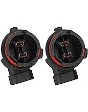 Gorgeri Gloeilamp naar Stopcontact Adapter Plafondlamphouder 2 Stuks Outlet Licht Socket Splitter Adapter Lamphouder Basis Socket Fit voor Opel Astra met H7 Lamp 1226084 9118046