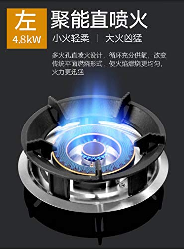 5500w Gas Stove Double Fire Home and Commercial 2 Pots Gas Hobs Dual-cooker Gas Cooktop Catering Equipment by SMILESSGSP (Image #1)