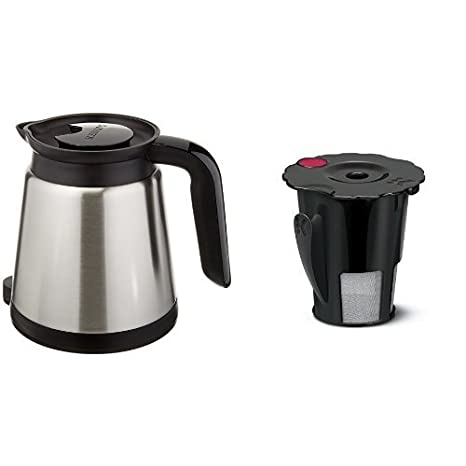 .com: keurig 2.0 thermal carafe & keurig 2.0 my k-cup reusable ...