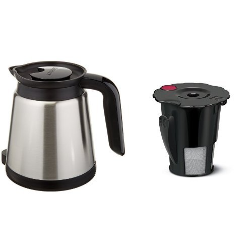 Keurig 2.0 Thermal Carafe & Keurig 2.0 My K-Cup Reusable Coffee (Keurig Coffee Pots)
