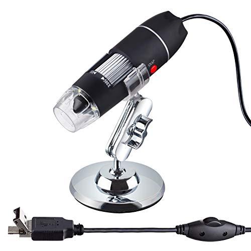 50-500X 8-LED USB Digital Microscope with Multi-USB OTG Connector