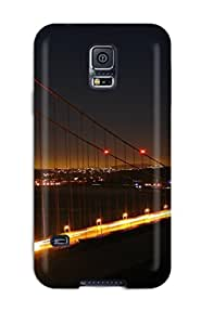 Snap-on Golden Gate Bridge Case Cover Skin Compatible With Galaxy S5