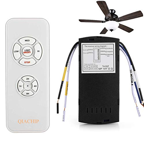 QIACHIP Ceiling Fan Remote Control Kit