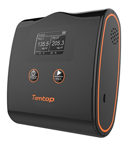 Price comparison product image Temtop LKC-20T High Accuracy Air Quality Monitor PM2.5 / PM10 / Temperature and Humidity Detector