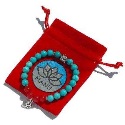 Mala Bead Bracelet - Astral Projection Meditation Ohm Buddah (Astral Projection Jewelry)