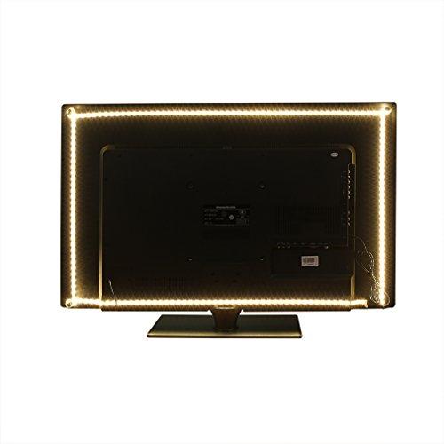 Anten USB LED Strip Lights Warm White Bias Lighting TV Backl