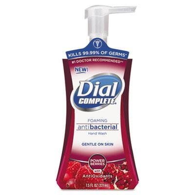 Dial Professional - Antimicrobial Foaming Hand Soap 7.5Oz Pump Bottle Cranberry