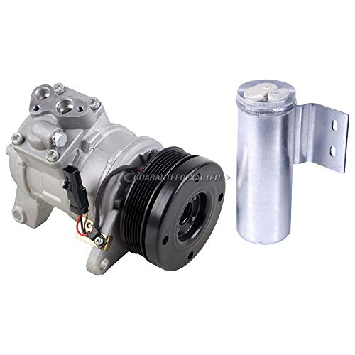 Plymouth Grand Voyager A/c - AC Compressor w/A/C Drier For Dodge Caravan Plymouth Voyager Chrysler Van - BuyAutoParts 60-86197R2 NEW