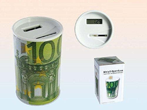 Salvadanaio con Contatore di Banconote da 100 €