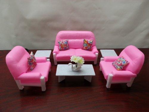 Barbie Doll Size Gloria Living Room Play (Doll Living Room)
