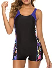 sand's coast Women's One Piece Swimsuits Sports Racerback Bathing Suit Racing Training Athletic Swimwear for Teens