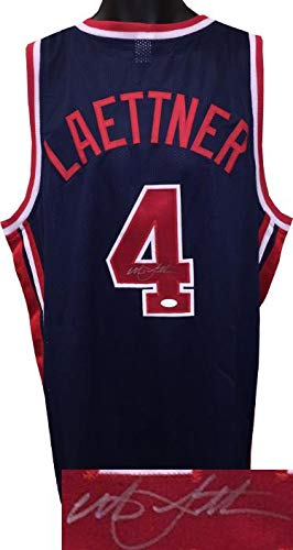 e85d14dee24 Image Unavailable. Image not available for. Color  Christian Laettner  signed Team USA ...