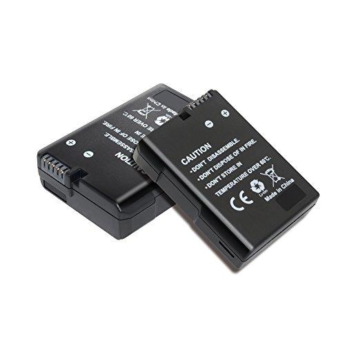 Bonacell 2 Pack 1500mAh Replacement Nikon EN-EL14/EN-EL14A Battery for Nikon D5600, D5100, D5200, D5300, D5500, D3100, D3200, D3300, D3400, DF, Coolpix P7800, P7700, P7100, P7000 DSLR Camera