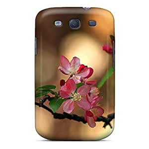 Flower's Town HPt10942TQAM Case Cover Skin For Galaxy S3 (cherrybloomz)
