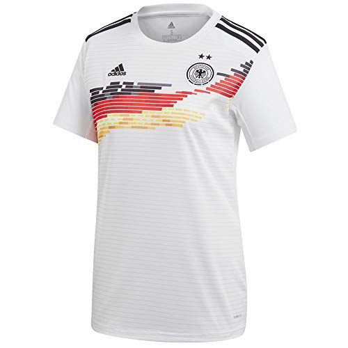 adidas Germany Women's National Team Women's 2019 Home Replica Jersey - White (Medium)