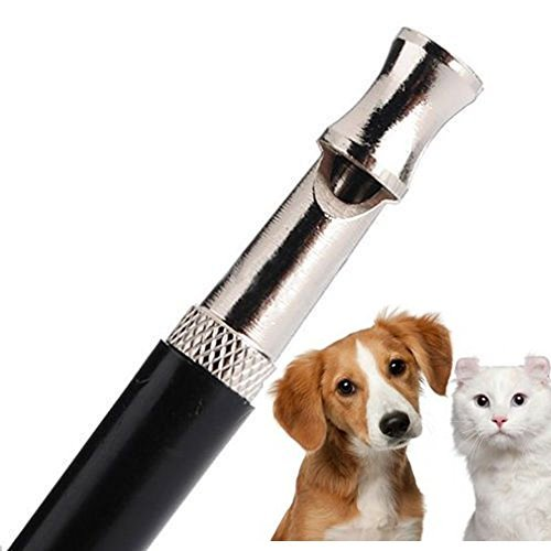 Best 526 Pet Dog Training Obedience Whistle Ultrasonic Supersonic Sound Pitch Black Quiet No.140