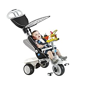 4 in 1 smart trike recliner black baby. Black Bedroom Furniture Sets. Home Design Ideas