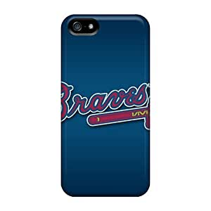 Fashionable OuC738JsJj Iphone 5/5s Case Cover For Atlanta Braves Protective Case