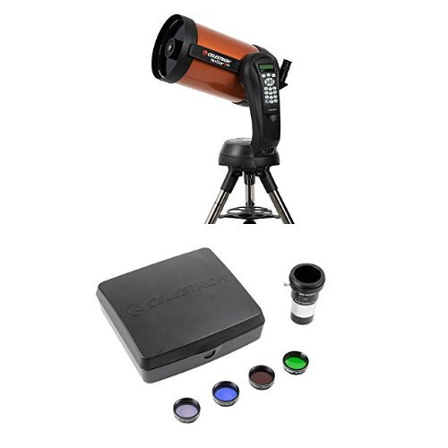 Celestron NexStar 8 SE Telescope with Mars Observing Telescope Accessory Kit/Deluxe kits and Eyepiece Filter