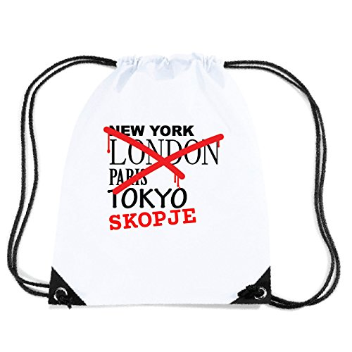 JOllify SKOPJE Turnbeutel Tasche GYM4818 Design: Graffiti Streetart New York
