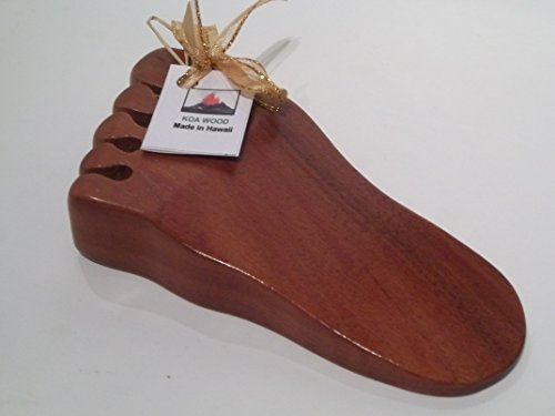 Hawaiian Koa Wood Door Stop