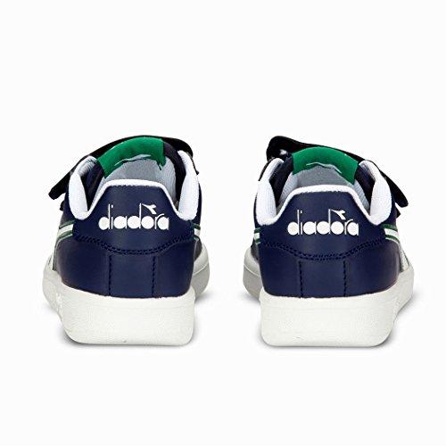 Diadora Game P Jr, Zapatillas para Niños Blu