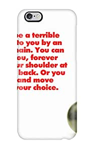 Premium Durable Funny Life Quotes Fashion Tpu Iphone 6 Plus Protective Case Cover
