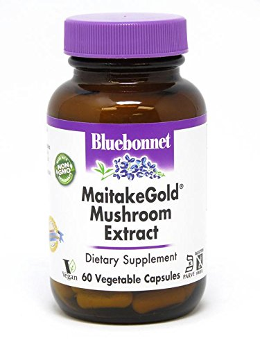 - Bluebonnet Nutrition Maitakegold Mushroom Extract, 60 Count