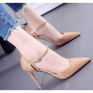 CN34 Spring Wedding Women'S US5 Summer EU35 RTRY 4 Nude Comfort Shoes Black Comfort 4In Patent Light UK3 Leather Casual Pink 3 4In fY45q1wqx