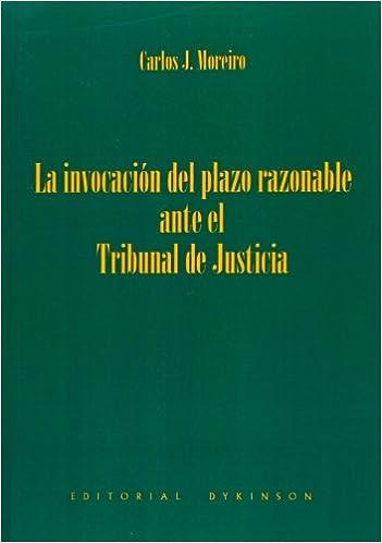 La invocación del plazo razonable ante el Tribunal de