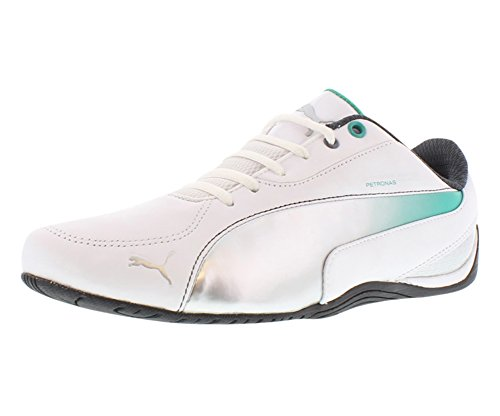 Puma Drift Cat 5 MAMGP Men's Sneakers Size US 10, Regular Width, Color Black/White/Silver/Teal