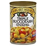 Margaret Holmes, Triple Succotash, 14.5oz Can (Pack of 6) For Sale